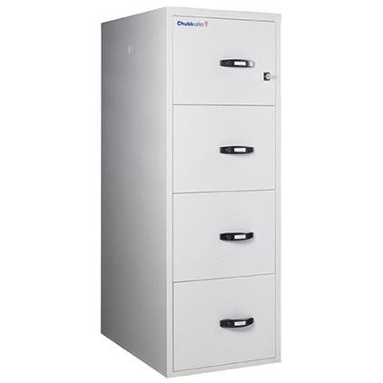 Chubb Profile 2 Hr 4 Drawer Fireproof Cabinet