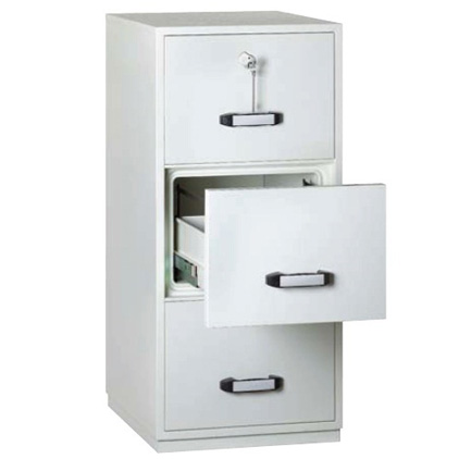 Guardian Fire File 2 Hr 3 Drawer Fireproof Cabinet