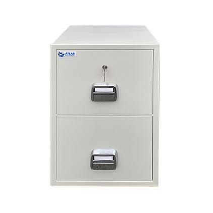 ATLAS Secure File 2 Drawer Fireproof Filing Cabinet