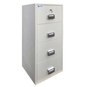 ATLAS Secure File 4 Drawer Fireproof Filing Cabinet