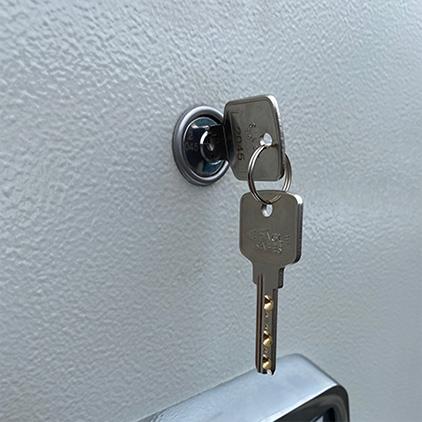 ATLAS Secure File Fireproof Filing Cabinet Key Lock